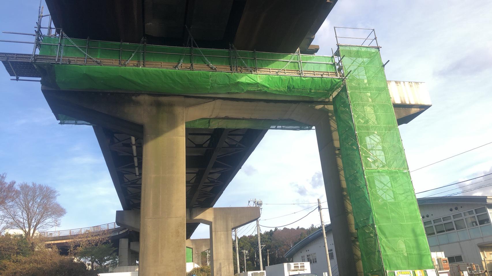 大庭大橋伸縮装置改修工事